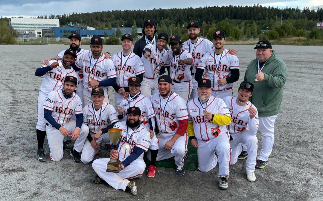 Tigers toi Tampereelle ja seuralle kaikkien aikojen ensimmäisen Baseballin Suomen mestaruuden