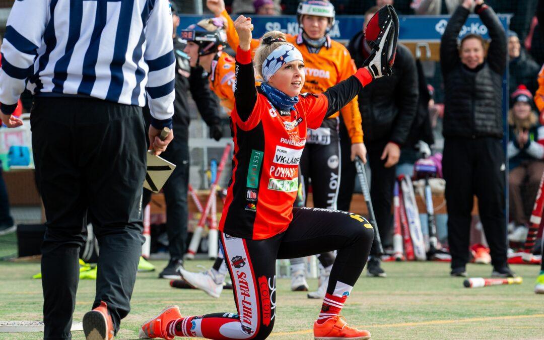 """Vettenranta selätti haasteet – """"Minttu 2.0"""" on mestarijoukkueen tärkein pelaaja ja vuoden lukkari!"""